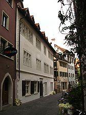 Konstanz, Rheingasse 15 (Schoenenberg 2008) / Zum Goldnen Schaf, Haus zur Reuschen, ehem. zum Goldnen Kreuz in 78462 Konstanz