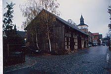 Außenansicht von Südwesten. / Fachwerkbau, ehemaliger Farrenstall in 74189 Weinsberg