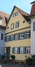 Bild von 2007. Foto: Dietmar Hencke (StadtA SHA Server Häuserlexikon) / Wohnhaus in 74523 Schwäbisch Hall