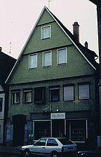Ansicht von der Vorderen Schmiedgasse / Wohn- und Geschäftshaus in 73525 Schwäbisch Gmünd