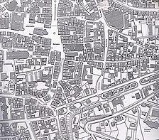 Ausschnitt Kartographie Schwäbisch Gmünd (1986) / Wohn- und Geschäftshaus in 73525 Schwäbisch Gmünd