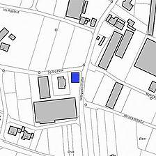Lageplan 2007 (Vorlage LV-BW) / Wohnhaus in 78479 Reichenau-Mittelzell