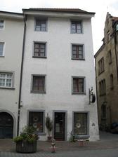 Konstanz, Zollernstraße 12, Ansicht von der Zollernstraße auf die Südfassdae (Schoenenberg 2008) / Wohnhaus in 78462 Konstanz