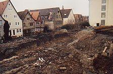Gesamtansicht von Südosten / archäologische Grabungen in 74523 Schwäbisch Hall