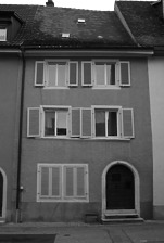 Straßentraufe / Wohnhaus in 79219 Staufen, Staufen im Breisgau (Stadtarchiv Staufen)