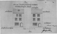 Bauplan (1912) / Wohnhaus in 79219 Staufen, Staufen im Breisgau (20.08.1912 - Stadtarchiv Staufen )