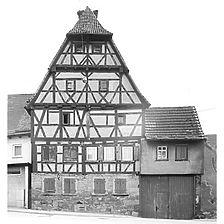 Photogrammetrische Aufnahme von West, 1979 / Hof Storchennest in 74193 Schwaigern