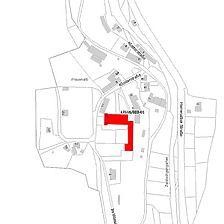 Flurkarte 2006 (Vorlage LV-BW und LAD) / Klosterruine in 76359 Marxzell-Frauenalb