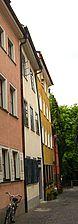 Ansicht Traufseite / Haus zum Mühlstein in 78462 Konstanz (22.07.2008 - Schoenenberg)