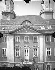 Photogrammetrische Aufnahme Ansicht Ost, 1979 / Rathaus in 78532 Tuttlingen