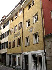 Fassade Straßenseite / Haus zum Jäger in 78462 Konstanz (01.03.2012 - Schoenenberg 2008)