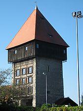 Blick nach Nordwesten  / Rheintorturm in 78462 Konstanz (Schoenenberg 2008)