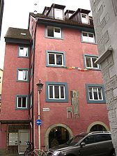 Konstanz, Rheingasse 16 (Schoenenberg 2008) / Haus zur Sonne / zum Mathäus am Zollbank in 78642 Konstanz