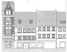 Ansicht von der Rosgartenstraße. Zustand 2000 / Haus zum Steinböckle in 78642 Konstanz