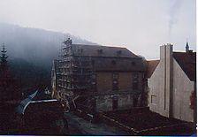 Refektorium, Ostwand. / Refektorium in 97877 Bronnbach