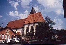 Katharinenkirche von Südosten. / Katharinenkirche in 71634 Egolsheim, Eglosheim