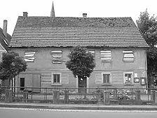 Ansicht Straßenseite   / Wohnhaus, Fachwerkhaus in 97990 Laudenbach