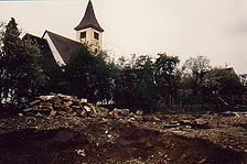 Gesamtansicht von Nordosten / Alte Burg in 72657 Altenriet