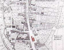Lageplan / Wohngebäude in 73230 Kirchheim / Teck, Kirchheim unter Teck