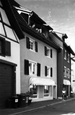 Ostansicht / Wohnhaus in 79219 Staufen, Staufen im Breisgau (Stadtarchiv Staufen )
