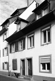Westansicht / Wohnhaus in 79219 Staufen, Staufen im Breisgau (Stadtarchiv Staufen )