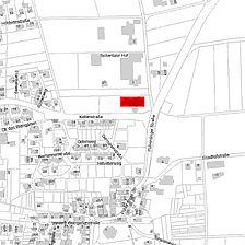 Flurkarte 2006 (Vorlage LV-BW ud LAD) / Keltengrab in 71735 Eberdingen-Hochdorf, Hochdorf an der Enz