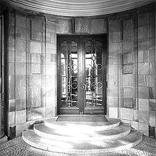 Photogrammetrische Aufnahme Eingangsportal Ostseite, 1979 / Villa Reitzenstein in 70184 Stuttgart, Stuttgart-Mitte