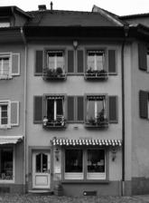 Ansicht Ost / Wohn- und Geschäftshaus in 79219 Staufen, Staufen im Breisgau (Stadtarchiv Staufen)