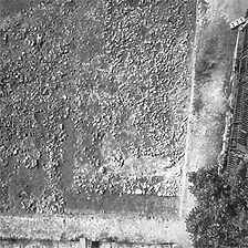 Ausschnitt photogrammetrische Aufnahme, 2005 / Grabung (röm. Kastell) in 78628 Rottweil