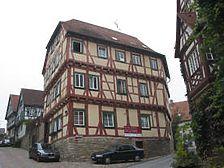 Ansicht des Gebäudes von Osten (2005) / Ehrenberghaus in 74206 Bad Wimpfen