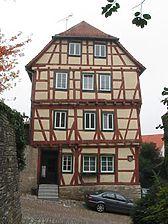 Ansicht des Gebäudes von Südosten (2005) / Ehrenberghaus in 74206 Bad Wimpfen