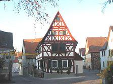 Ansicht des Gasthauses Sonne (2007) / Gasthaus Sonne in 74348 Lauffen am Neckar