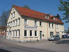Ansicht des Gasthauses von Süden (2007) / Gasthaus Löwen in 70329 Stuttgart-Hedelfingen