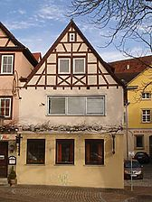 Bild von 2007 (StadtA Server Häuserlexikon) / Gastwirtschaft Germania (Nebengebäude) in 74523 Schwäbisch Hall