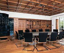 Nachrichtenblatt 2004-4 S.217 - Ehemaliges Speisezimmer nach der Sanierung / Haus Mühlegg in 78112 St. Georgen, St. Georgen im Schwarzwald