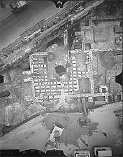 Photogrammetrische Übersichtsaufnahme, 1981 / Römische Badeanlage in 89518 Heidenheim, Heidenheim an der Brenz