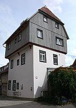 Ansicht von Nordwesten, Juni 2007 (Foto: Dietmar Hencke (StadtA SHA Server Häuserlexikon) / Wohnhaus, sog. Pfaff-Judas-Haus in 74532 Schwäbisch Hall