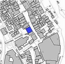 Lageplan 2008 (Vorlage LV-BW) / Wohn- und Geschäftshaus in 73312 Geislingen, Geislingen an der Steige