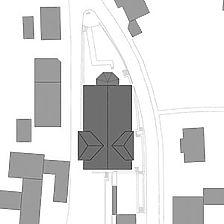 Lageplan Klosterhof. Plan genordet. / Klosterhof in 88631 Beuron