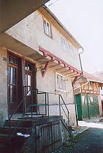 Ansicht 2008 vor Freilegung der Schäden / Wohnhaus in 97941 Tauberbischofsheim