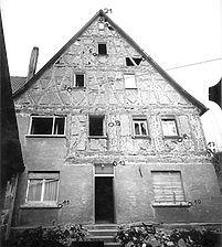 Aufnahme von Ost, 1982 / Wohnhaus in 73099 Adelberg