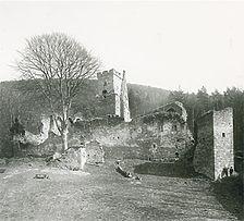 Aufnahmen von Nord, 1984 / Burgruine Freudenburg in 97896 Freudenberg/Main