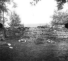 Aufnahme von Nord, 1982 / Klostermauer in 73099 Adelberg, Adelberg - Kloster