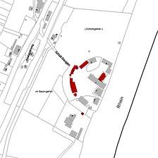 ALK 2008 (Vorlage LV-BW und LAD) / Schloss Beuggen und Nebengebäude in 79618 Rheinfelden-Karsau