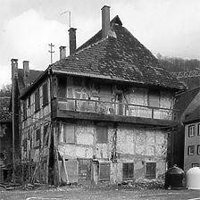 Aufnahme von Süd, 1983 / Gerberhaus in 73312 Geislingen an der Steige