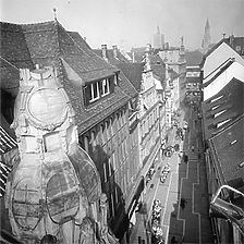 Ansicht Rosgartenstrasse von Süd, 1982 / Wohn- und Geschäftshäuser in 78462 Konstanz