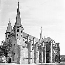 Ansicht von Südwest, 1890 (H. Schuler) / St. Peter und Paul in 74206 Bad Wimpfen - Wimpfen im Tal