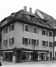 Nordwestansicht / Wohn- und Geschäftshaus in 79219 Staufen, Staufen im Breisgau (Stadtarchiv Staufen)