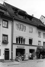 Westansicht / Wohn- und Geschäftshaus in 79219 Staufen, Staufen im Breisgau (Stadtarchiv Staufen)