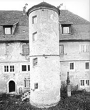 Photogrammetrische Aufnahme Ansicht Nord, 1981 / Schloss in 74238 Krautheim-Neunstetten